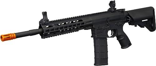 Tippmann Tactical Commando AEG Carbine 14.5in Airsoft Rifle Black