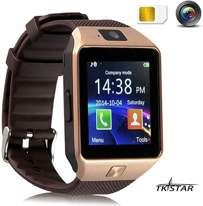Reloj inteligente SmartWatch Bluetooth para teléfono con cámara y ...