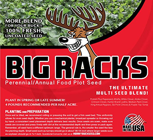 Big Racks - Horny Buck Food Plot Seed
