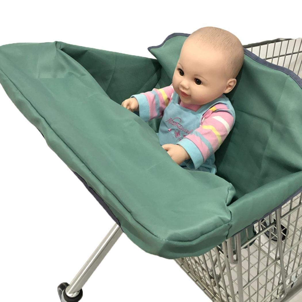 Great Gift Ideal for Mom ONERIOME Foldable Baby Shopping Cart Cover Cushion Holder for Kids Trolley Seat Protection Super Soft Pad