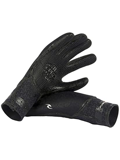 Adults Unisex Rip Curl Flashbomb 3//2mm 5 Finger Glove Fast Dry Full Finger Gloves for All Watersports
