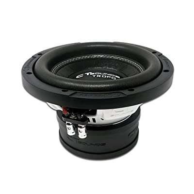 """CT SOUNDS   Tropo 8 D2   8 Inch Car Subwoofer  400W RMS   800W MAX Power   Dual 2Ω (Ohm)   2"""" Voice Coil  Kickass   SQ and SPL   Competition Grade   Massive Sound   Powerful Bass   DEEP Low Notes: Car Electronics"""