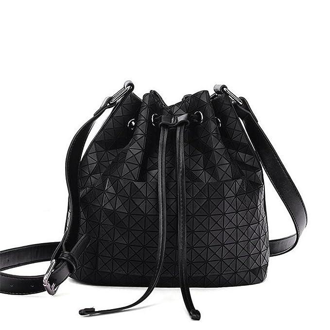 Vintage Women-Bag Brand Bag Geometric Shoulder Bucket Bag ...
