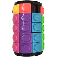 FUNCOCO Cylinder Cube Fidget Toy - Pressure Reduction Anxiety Relief Toy Killing Time for Anxiety, and Autism Adult and Children