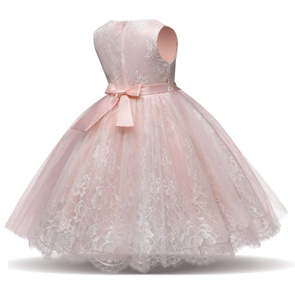 ac37c922f Vestido de Boda Fiesta para Niñas Sin Largas Otoño 2018 Moda PAOLIAN Ropa  para Niñas Costura Floral Lindo Vestido Noche Hilado Neto Chica Princesa  Faldas ...