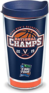 Tervis 1216270 Virginia Cavaliers College Pride Tumbler with Wrap and Navy Lid 16oz Clear