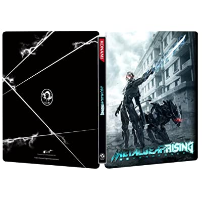 Metal Gear Rising: Revengeance Limited Edition FutureShop SteelBook Case [G2 Size, No Game] New: Toys & Games