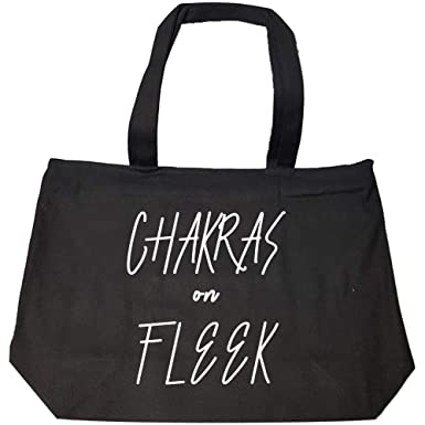 Amazon.com: Chakras On Fleek Funny Yoga Gift For Yoga ...