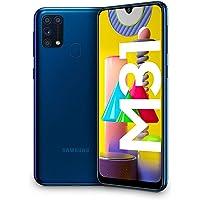 "Samsung Galaxy M31 - Smartphone Dual SIM, Pantalla de 6.4"" sAMOLED FHD+, Cámara 64 MP, 6 GB RAM, 64 GB ROM Ampliables…"