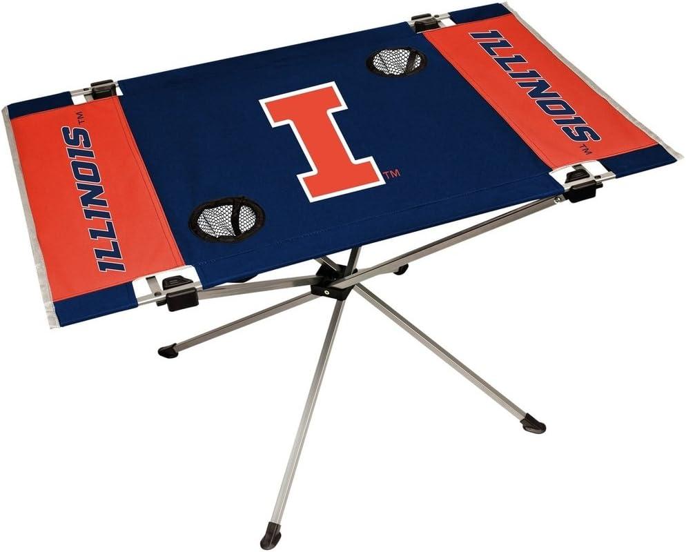 Jarden NCAA Illinois Illini Unisex Illinois Fighting Illini Table Endzone Styleillinois Fighting Illini Table Endzone Style Team Color One Size