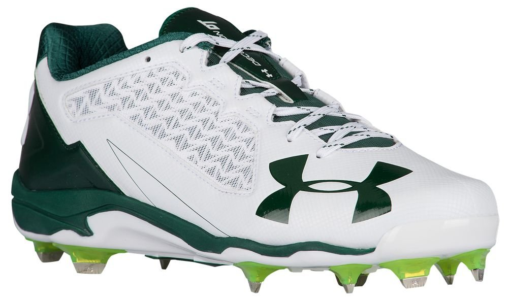 [アンダーアーマー] Under Armour Deception Low DT メンズ ベースボール [並行輸入品] B0725QQJKB US10.5|White/Forest Green White/Forest Green US10.5