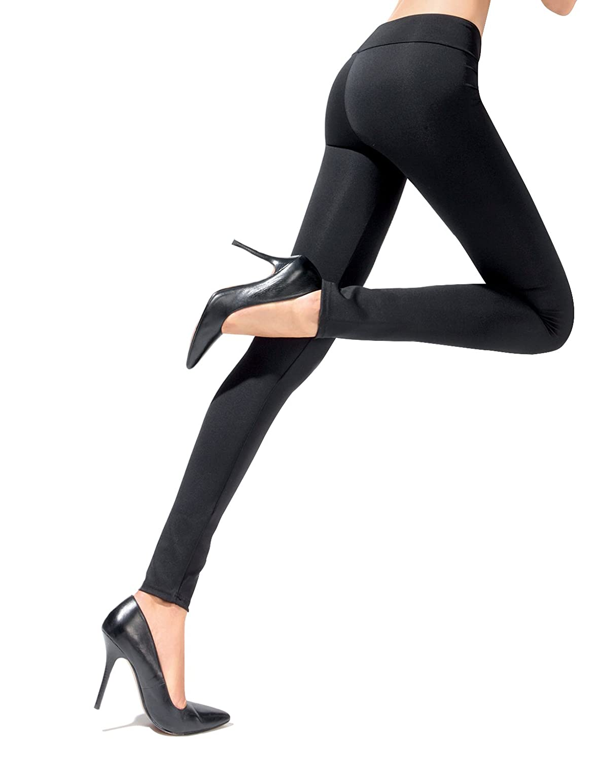 | LEGGINGS PUSH UP | MALLAS REDUCTORAS |LEGGINGS MODEADORES | S, M, L | NEGRO | CALCETERIA ITALIANA | 400011