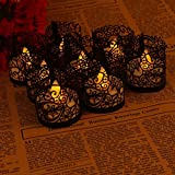 ASENART Flameless Tea Light Votive Wrap Candle