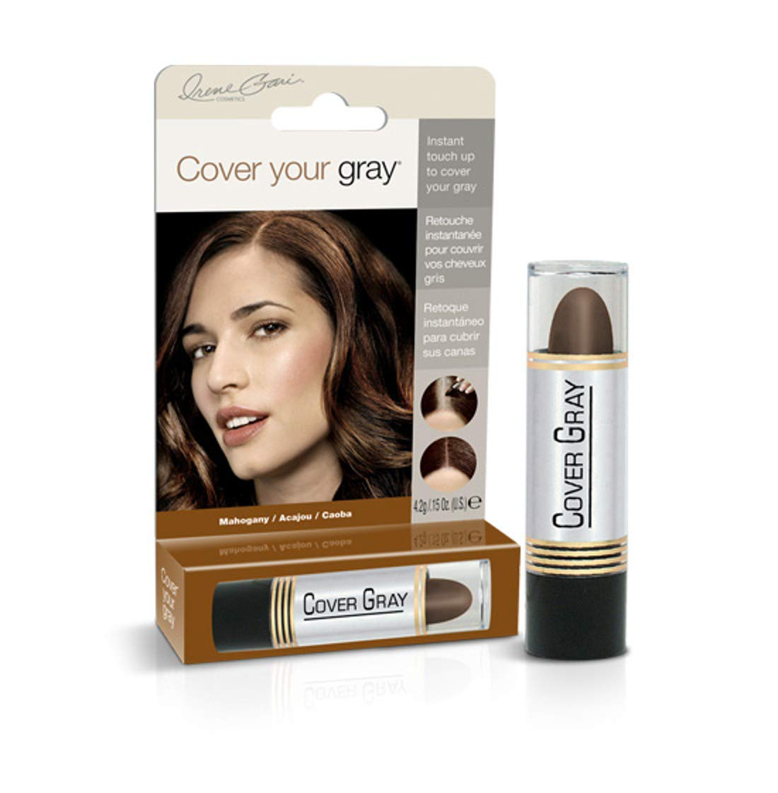 Cover Your Gray Touch-Up Stick Mahogany Hair Color .15 oz. Daggett & Ramsdell IG-LMA