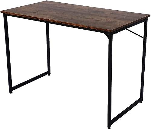 Modern Writing Computer Desk Black 43