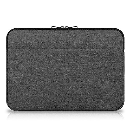 Funny live 13-13.3 Inch Laptop Sleeve Case Bag Water Repellent Protective Laptop Sleeve Bag Notebook Case Zipper Laptop Sleeve Bag Case Cover, Dark Grey (Funny Repellent)