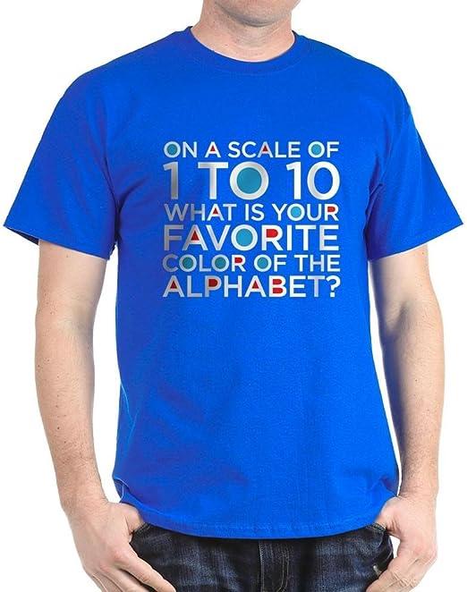 CafePress T-Shirt mit Skala von 1 bis 10, 100 % Baumwolle
