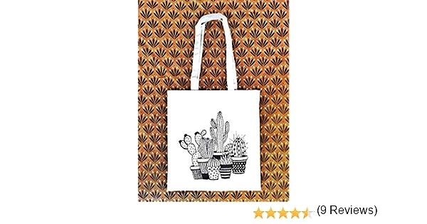 Prime Bolsa Boho Mexico Bolsos tote Tote bag Cactus Regalo para mujer Regalo para cumplea/ños