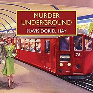 Murder Underground Audiobook