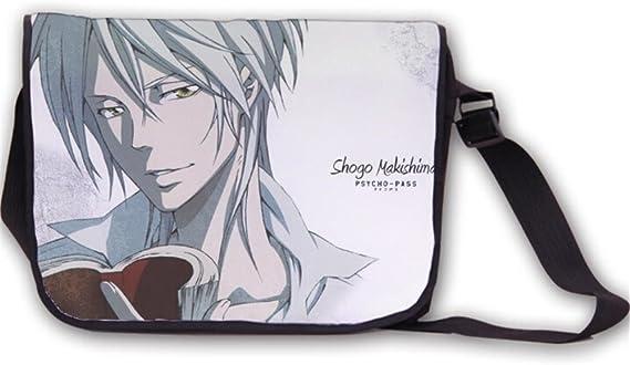 Siawasey Anime Psycho-Pass Cartoon Cosplay Backpack Messenger Bag Shoulder Bag