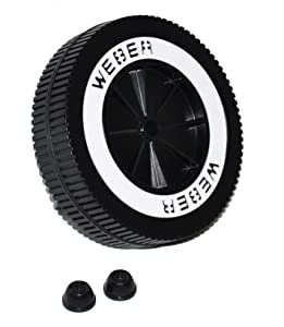 "Weber # 65930 6"" Replacement Wheel For Charcoal Grills,"