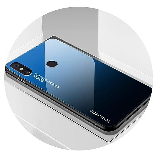 Amazon.com: Funda protectora de cristal templado para Xiaomi ...