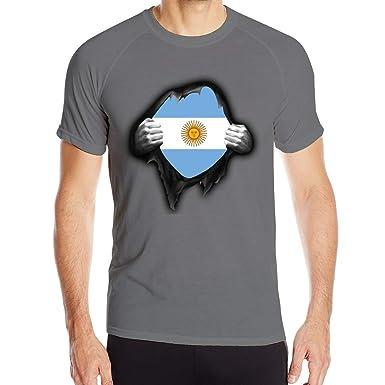 Camiseta Argentina para Hombre Orgullosa Camisetas de Manga Corta ...