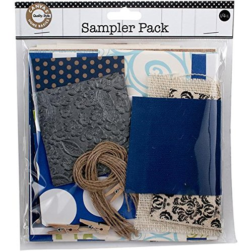 - Canvas Corp Sampler Pack, 0.25-Pound, Blue