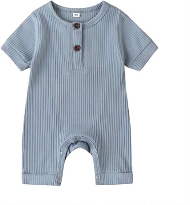 Infant Newborn Baby Boys Girls Cotton Linen Romper Summer Jumpsuit Sleeveless Overalls Clothing Set