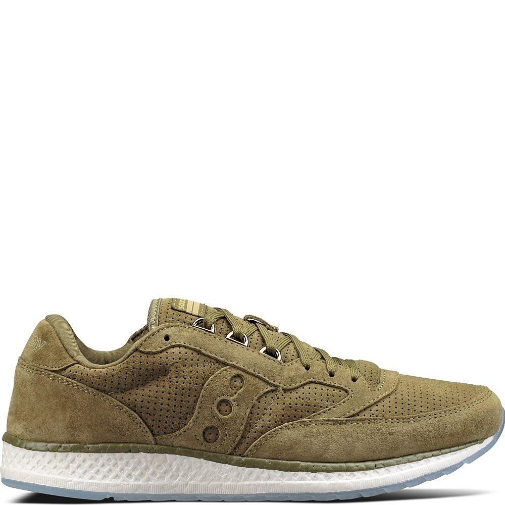 Saucony Originals Men's Freedom Runner Running-Shoes B01MTCIPSW 8.5 D(M) US Green