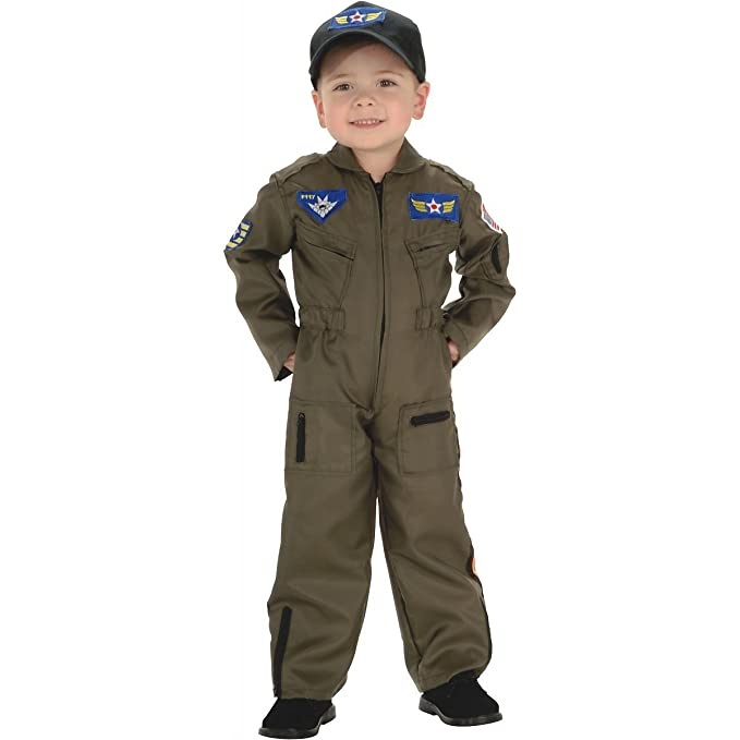Amazon.com  Air Force Fighter Pilot Costume - Small  Clothing 1ce0ac0f651