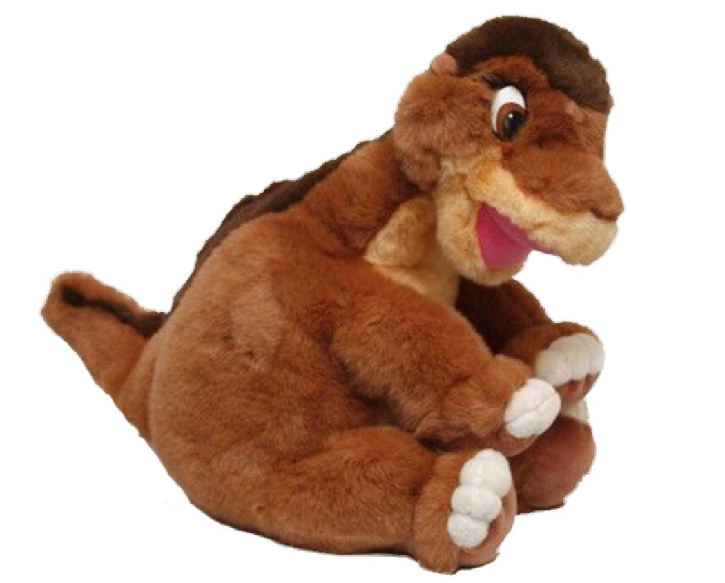 amazon com dinosaur plush littlefoot from the land before time by