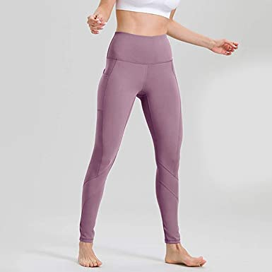 Guy-Sex Fitness Women Workout Out Pocket Leggings Fitness ...