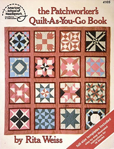 quilt as you go books - 9
