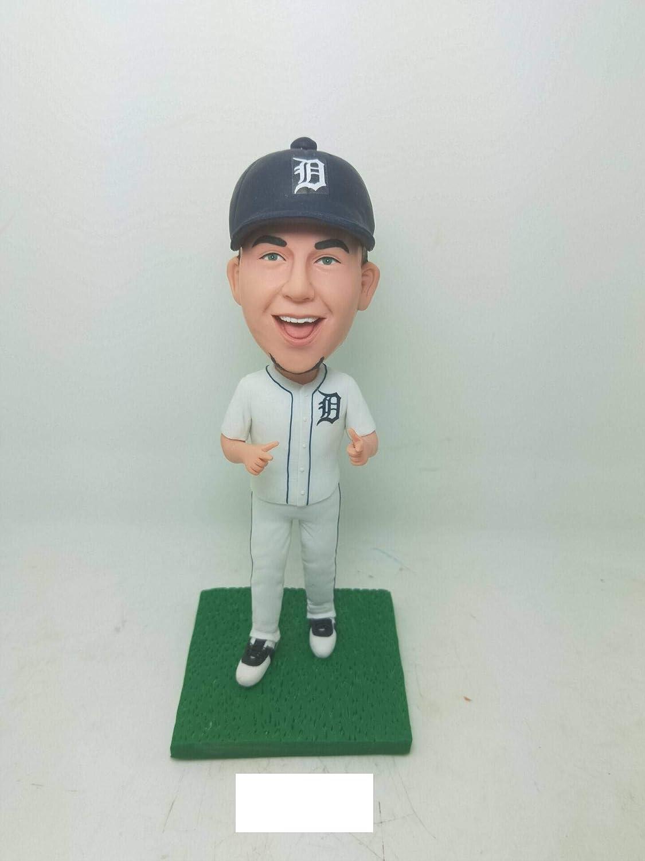 buy popular 94231 41abd Amazon.com: Detroit Tigers Custom Bobble Head Detroit Tigers ...