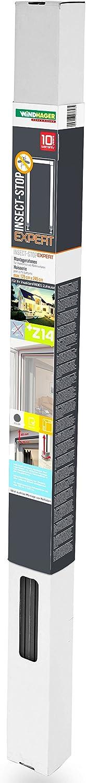 125 x 245cm individuell k/ürzbar Windhager Insektenschutz Montagerahmen Premium bohrfrei Insektenschutzrahmen Fenster T/üren montieren wei/ß 03858