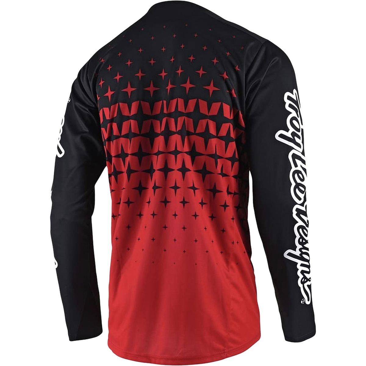 Mens Metric Gray//Ocean Troy Lee Designs Sprint Jersey M