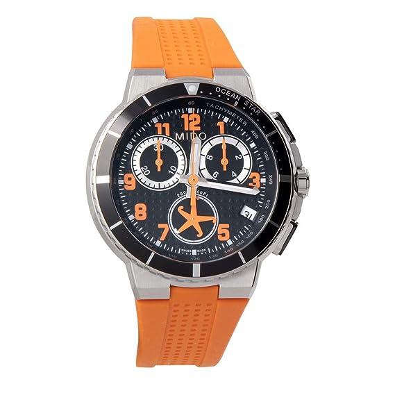 bb8c36b381ab Mido Ocean Star - Reloj de hombre m0026171705201  Amazon.com.mx  Relojes