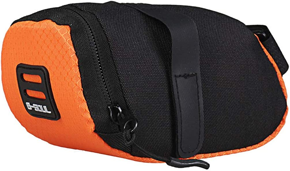 Toporchid Outdoor Bicycle Small Tail Bag Mini Portable Road Bike Back Seat Riding Saddle Bag