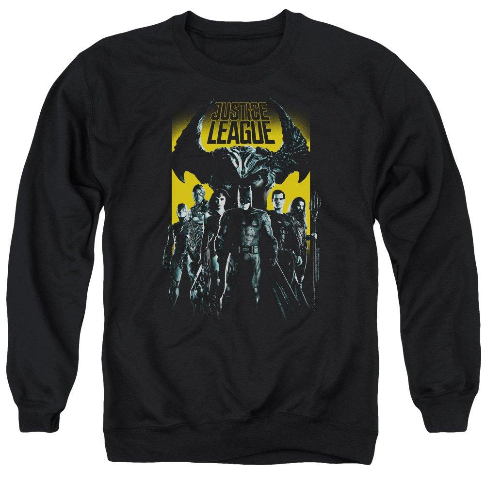 Justice League Movie - - Männer Stehen bis zum bösen Pullover
