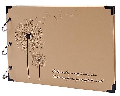 Amazon Sicohome Scrapbook Scrapbook Album With Scrapbook