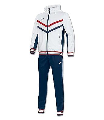 Joma - Chándal - para Hombre Blanco White/Red / Navy Talla:XL ...