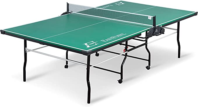 Amazon.com : EastPoint Sports Dominator Table Tennis Table - 18mm - Features Foldable Table with on Center Net and Table Tennis Paddle and Ball Storage : Sports & Outdoors