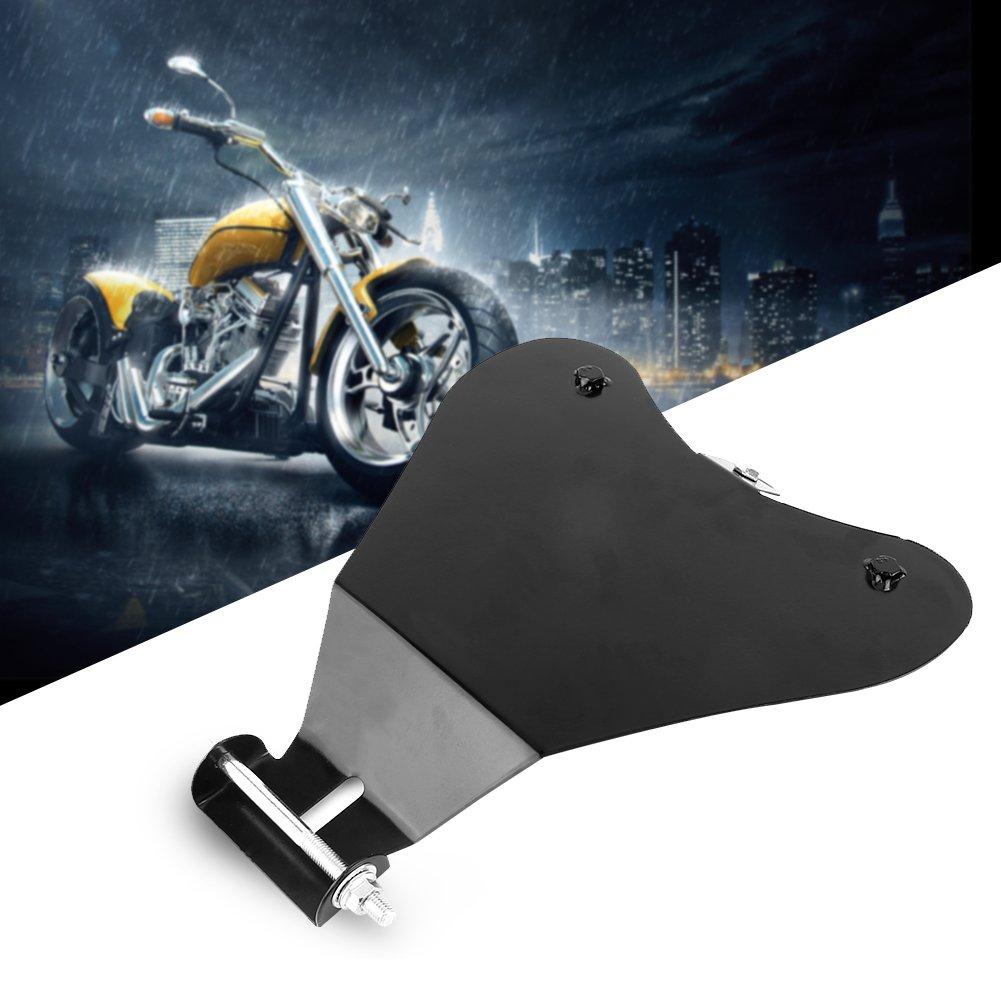 Keenso Motorrad Solo Sitz Grundplatte Motorrad Heavy Duty Metall Solo Sitzsch/ützende Grundplatte