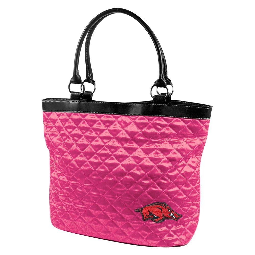 NCAAキルト風トートバッグ B004NFQTKI ピンク|アーカンソーレイザーバックス ピンク