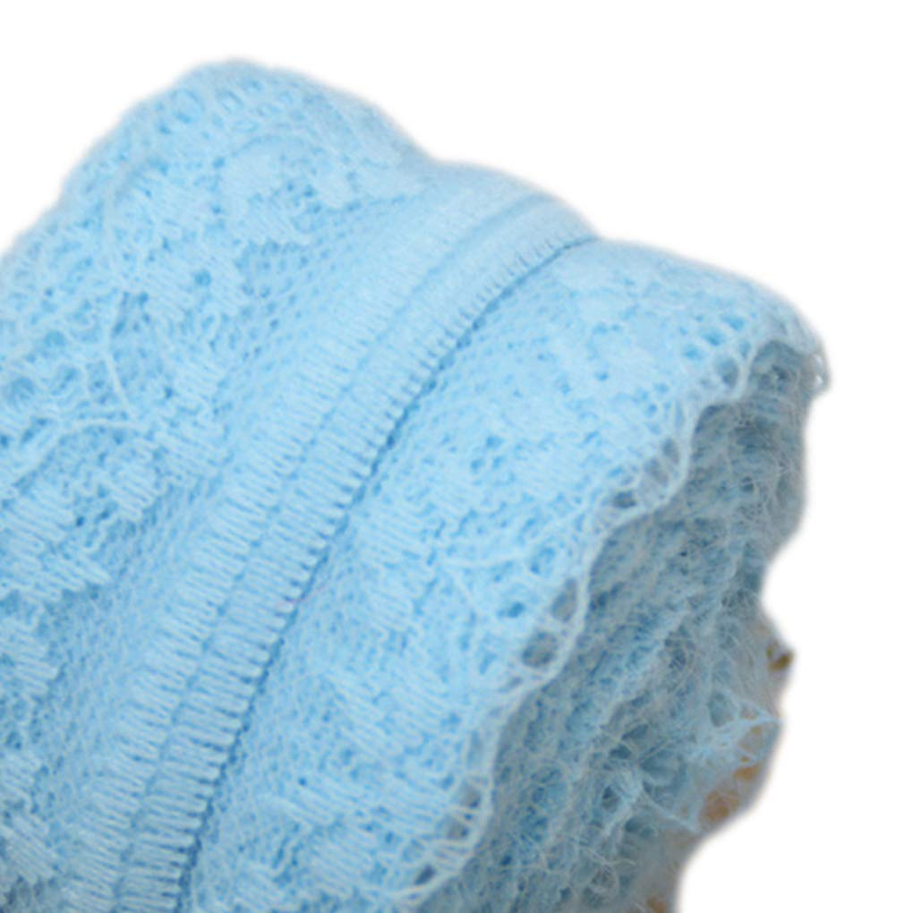 Sunlera 10 m//Rouleau v/êtement bilat/éral Dentelle Tissu Rideau Dentelle Accessoires de Bricolage Robe de Mariage D/écor