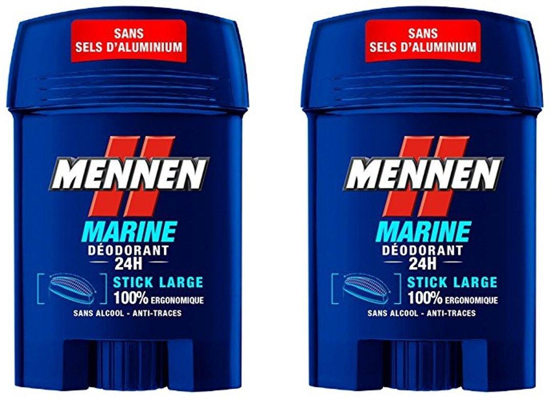 MENNEN Déodorant Marine 24 H 50 ml 2 Pièces WFR18818