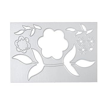 DIPOLA Acero del Metal en Relieve Troqueles de Corte Kit Plantilla para DIY Hecho a Mano