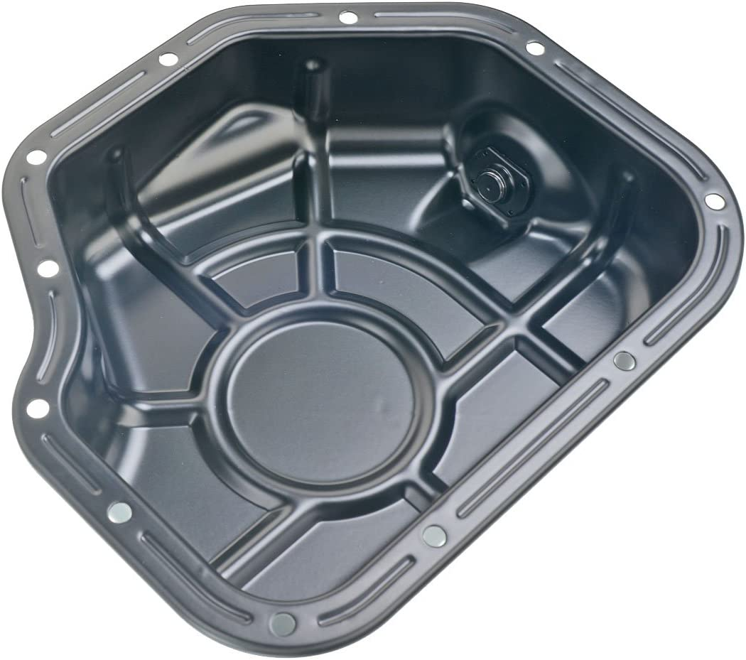INEEDUP Engine Oil Pan fit for 2006-2009 Hyundai Santa FeTransmission Oil Pan 2006-2010 Kia Optimacompatible with OE264-436