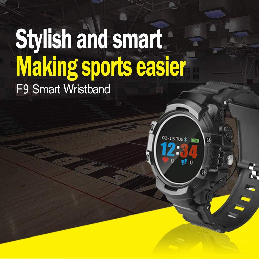 HighlifeS Bluetooth Smartwatch BT 4.0 IP68 Waterproof Fashion Men Monitor Bracelet Heart Rate for Android iOS